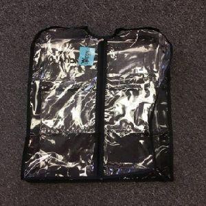 Ovation Gear Short Gusseted Clear Garment Bag 3100