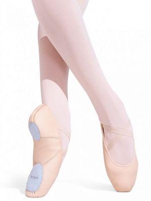 Capezio Children's Leather Juliet Split Sole Ballet Shoe 2027C