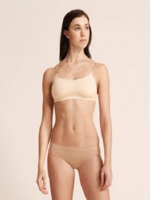 Capezio Women's Clear Strap Camisole Bra with BRATEK® 3564
