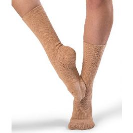 BLOCH SOX DANCE SOCKS A1000 Dance Spin-spot Grip control Black or Sand XS-L