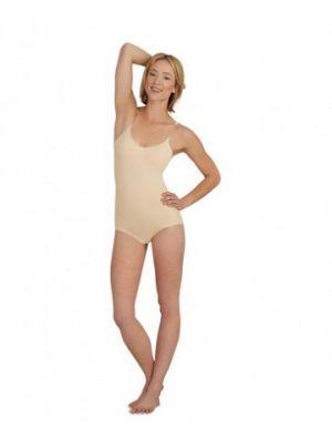Capezio Women's Convertible Clear Strap Camisole Body Liner with BRATEK® 3565