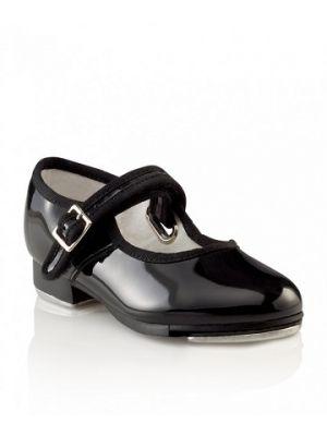 Capezio Child's Mary Jane Tap Shoe with Velcro Strap 3800C