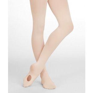 Capezio Ultra Soft Girls Transitional Tights Size 8-12 1916C